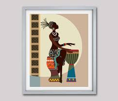 african art african american wall art african woman african art painting black woman painting african decor black woman on african american wall art ideas with african art african american wall art african woman african art