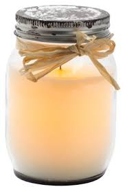 """Buy Northern International CGT11847IV Inglow Ivy Mason Candle, 3.3"""" x 5""""  Online at Low Prices in India - Amazon.in"""