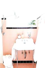 black and pink bathroom accessories. Brilliant Accessories Pink Bathroom Accessories View In Gallery And Black With An Original Retro  Sink Set   Intended Black And Pink Bathroom Accessories T