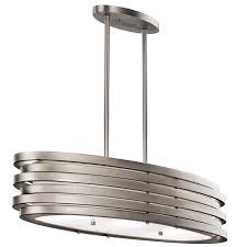outstanding brushed nickel kitchen light fixtures brushed pendant