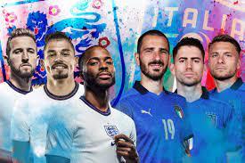 England Vs Italy Clash In The Euro 2020 ...