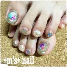 夏海リゾートフットシェル Ms Nailのネイルデザインno3374760