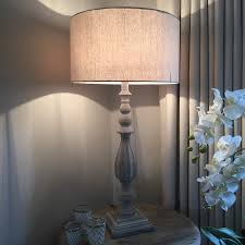 tall table lamps corner