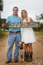 rustic houston engagement session
