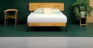 zinus metal and wood platform bed. Simple Bed Features For Zinus Metal And Wood Platform Bed