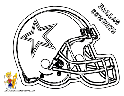 Small Picture Dallas Cowboys Helmet Coloring Pages Colorinenet 21212