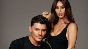 kim kardashian west s makeup artist on her desire to look ethnic their new collab and a sweat effect
