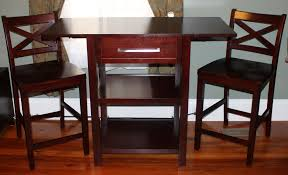 Target Kitchen Table And Chairs Target Threshold Three Piece Pub Table Set Assembly Youtube