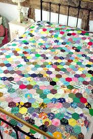Diy Patchwork Quilts Traditional Patchwork Sewing A Patchwork ... & ... A Patchwork Quiltlook At All Those Little Hexies How To Make A Patchwork  Quilt By Hand ... Adamdwight.com