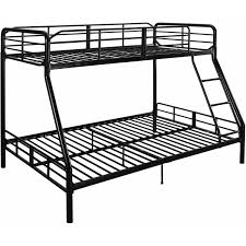 black metal bunk bed8 black