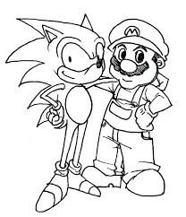 super shadow the hedgehog coloring pages sonic page new
