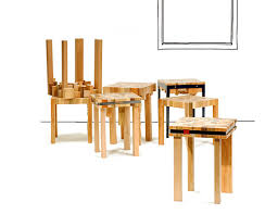 funky wood furniture. Ubico Studio, Stools, Tables, Recycled Wood Stump Series, Waste Wood, Funky Furniture I
