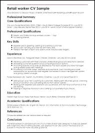 Resume Examples Best of Retail Jobs Resume Examples Position Example For Work Experience