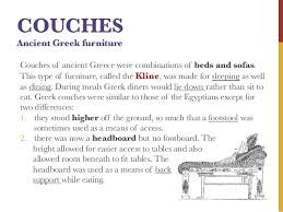 17 couches ancient greek furniture ancient greek furniture