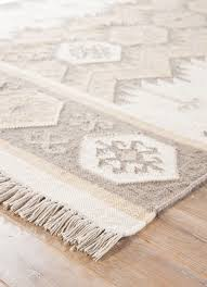 aztec sand indoor outdoor rug corner closeup