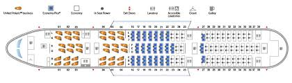United Plane Seating Chart Boeing 787 8 Dreamliner