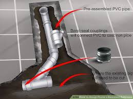 basement bathroom plumbing. Image Titled Rough Plumb A Basement Bathroom Step 15 Plumbing S
