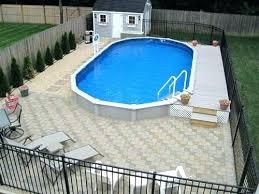semi inground pool cost. Semi Inground Pool Long Island Normal Installation Cost Above Ground