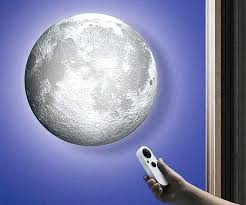 moon wall lamp half light shades