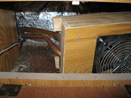 radiator heating system blower unit