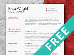 Free Minimalist Resume Template By Hertzel On Dribbble
