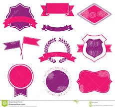 Templates For Logo Vibrant Logo Templates Stock Vector Illustration Of