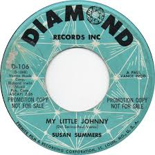 45cat - Susan Summers - Mommy And Daddy Were Twistin' / My Little Johnny -  Diamond - USA - D-106