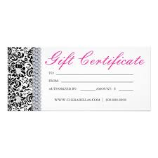 Gift Voucher Free Template Free Templates Certificate For Hair Contest For Cosmetology Hair