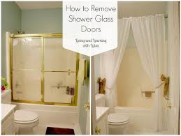 captivating shower curtains for glass showers inspiration with best 25 replacement shower doors ideas on home