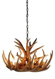 tall antler chandelier
