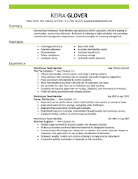 ... Team Members Resume Examples Production Resume Samples List Core  Competencies Resume Examples ...