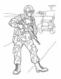 Soldier Coloring Pages Roman Page Colouring Soldiers Army W