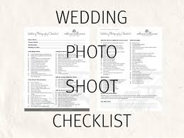 Wedding Photography Checklist Template Wedding Photography Checklist Forms Photo Checklist Editable Templates 2 Psd Files Supplied