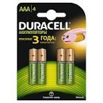 Акумулятор Duracell HR03 (AAA) 750mAh