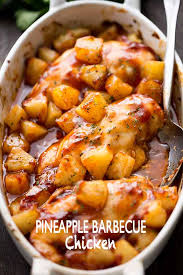 pineapple. pineapple barbecue chicken - you\u0027re only a few ingredients away from this amazing,