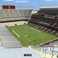 Mississippi State Football 3d Seating Chart Interactive 3d Tour Of 2015 Kyle Field Good Bull Hunting