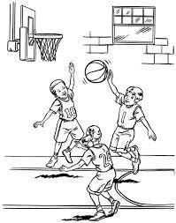 Basketball Player Coloring Pages Scrapbooking Prints Kleurplaten