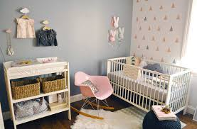 Nursery filled with an eclectic array of art | 10 Sweet Girls Nurseries -  Tinyme Blog