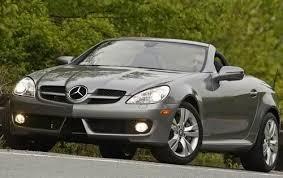 Save 5157 on a used mercedes benz slk class near you. Used 2009 Mercedes Benz Slk Class Convertible Review Edmunds