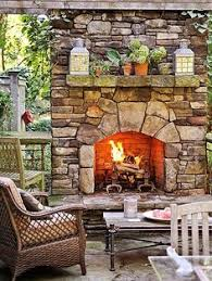 outside stone fireplace. the warmth provided by an outdoor fireplace can extend amount of time you use your backyard each season. this beautiful stone is nice outside