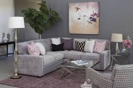 purple and grey living room ideas decor we re inspired by the color