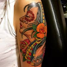 Tattooinktattoo Old Schooltattoo On Arm For Girls 7 Tr Flickr