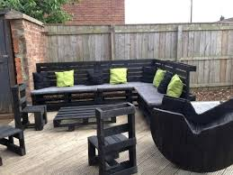 pallets outdoor furniture. Garden Table Made From Pallets Furniture Pallet Idea Intended For Outdoor R