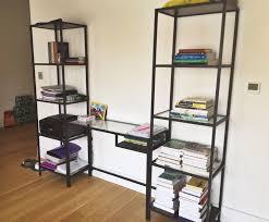 office shelving units. IKEA Vittsjo Glass Desk Shelving Unit FREE Printer In Kingston Inside Shelf Prepare 4 Office Units L