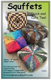 Tuffet Pattern Awesome Amazon Squffets Quick And Cute Two Square Tuffet Pattern By