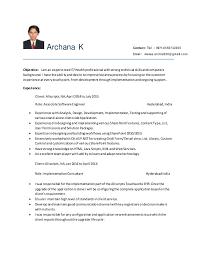 ... Innovation Ideas Sharepoint Developer Resume 2 SharePoint Developer  Resume ...