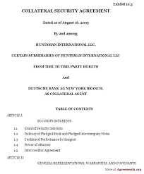 loan and security agreement template. Security Company Contracts Samples Template Audit skincenseco