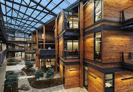 wooden office buildings. Wood Building Materials Are Sustainable And Renewable Wooden Office Buildings E