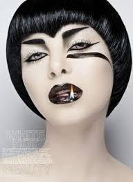 black and white makeup make up art model photographers pale makeup white makeup