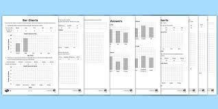 Composite Bar Chart Worksheet Lks2 Draw Bar Charts Differentiated Worksheet Worksheets